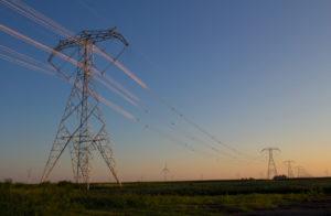 BOLD® lattice towers at dawn